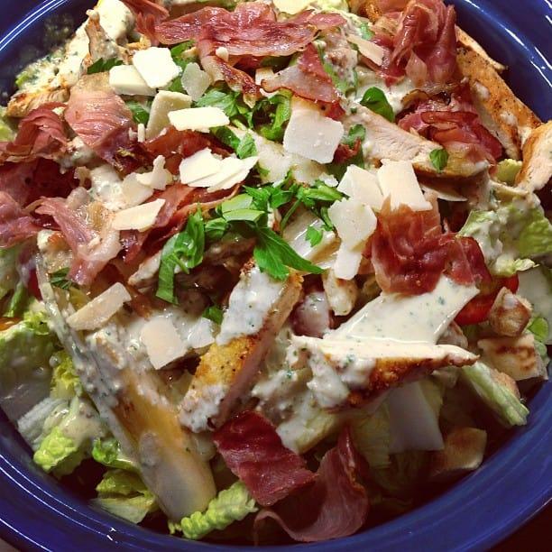 Caesar-Salad nach Jamie Oliver | SOAP|KITCHEN|STYLE
