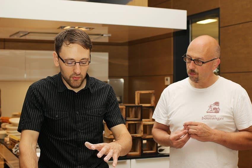 Hier sieht man Lutz Geißler und Schelli.