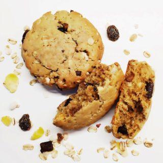 Frühstück-Cookies mit Müsli und Erdnussbutter | 10 Dinge über mich