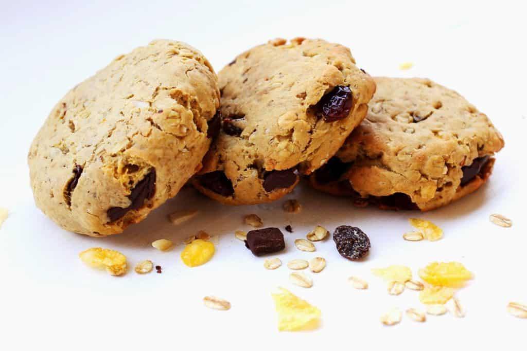 Frühstück | Breakfast | Cookies | Breakfast Cookies | Erdnusbutter Cookies | Peanutbutter Cookies | Müsli | Cereals | Müsli Cookies
