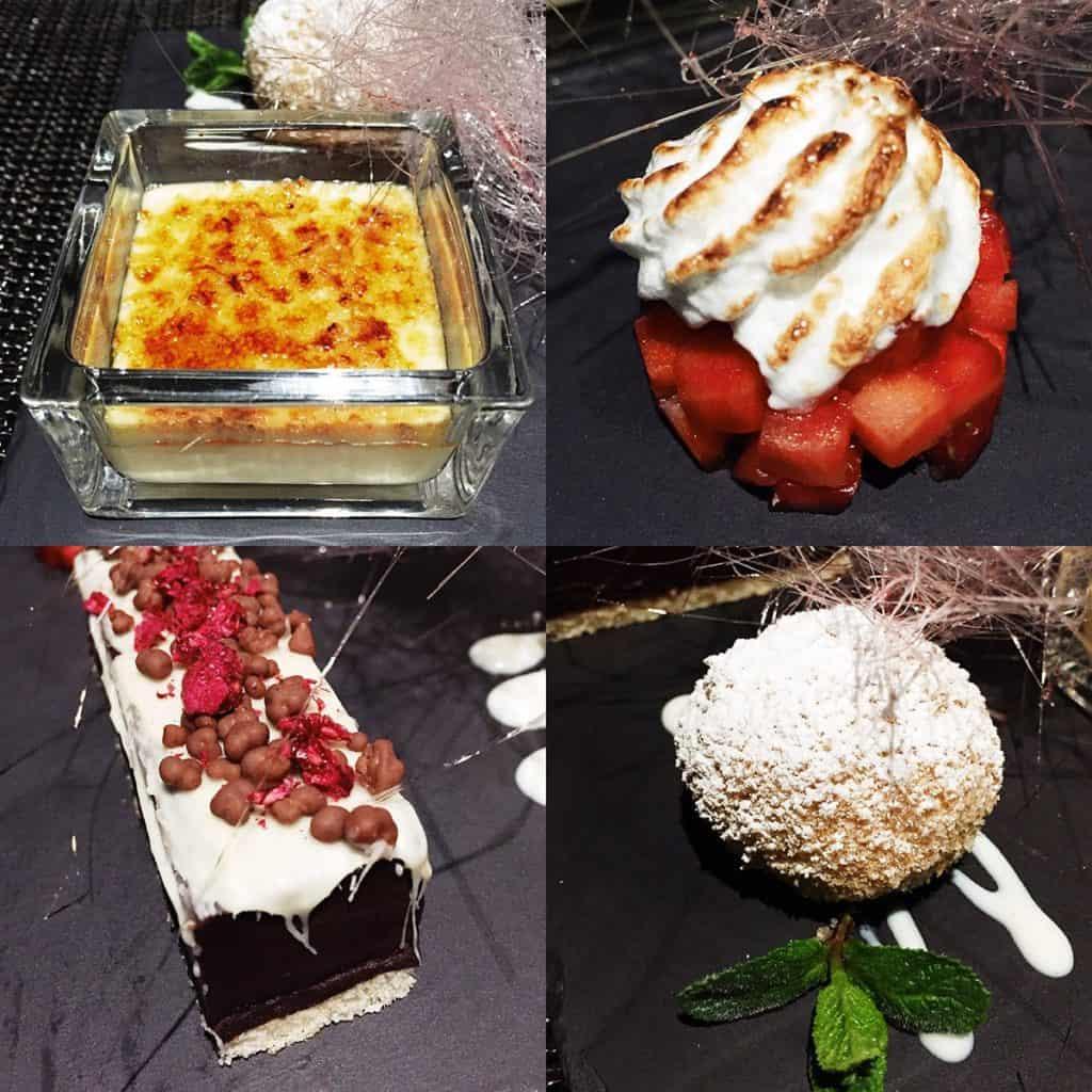 57 restaurant & lounge | Aussicht | Wien von oben | Restaurantkritik | Essen in Wien | Dessertvariation