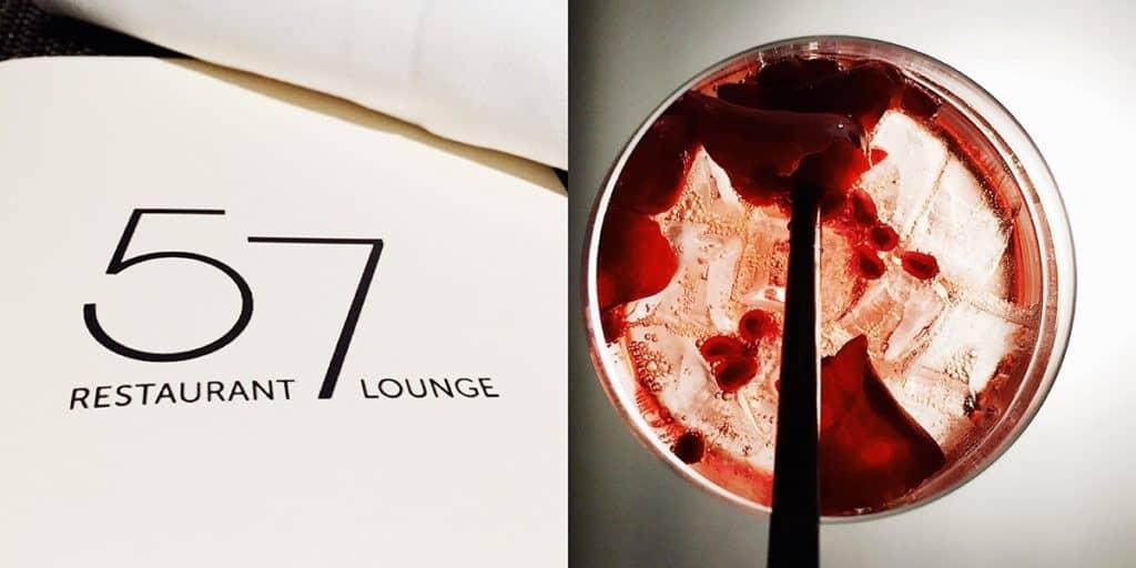 57 restaurant & lounge | Aussicht | Wien von oben | Restaurantkritik | Essen in Wien | 57 Signature Drink
