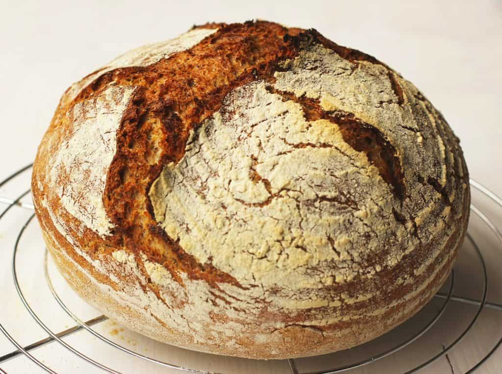 Rezept | Topfbrot | Weizenbrot | nokneadbread | hungryforbread | Brot| Germ | soapkitchenstyle