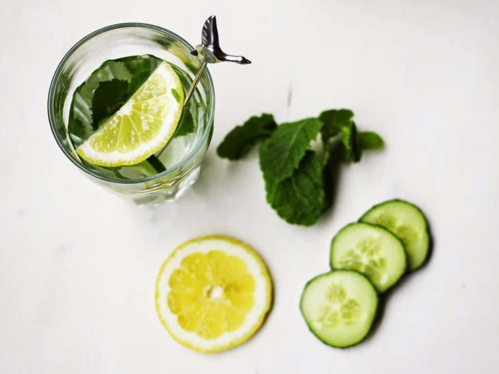 nfused Water | Gurken-Zitronen-Minz-Wasser | swatch | dolce vita | vitamin boost | Give Away