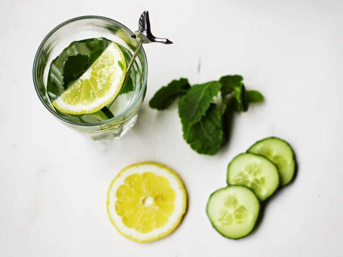 Gurke-Zitrone-Minz-Wasser | SOAP|KITCHEN|STYLE