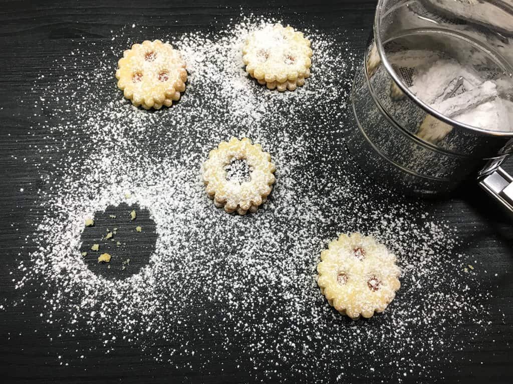 Linzeraugen | Familienrezept | Rezept | Weihnachtskekse | Kekse backen