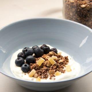 Kakao-Amaranth-Müsli | Breakfastbowl