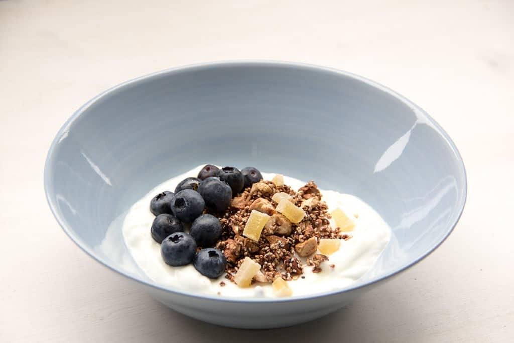 Breakfastbowl | Granola | Müsli | Homemade Müsli | Alnatura | Kakao-Amaranth-Müsli