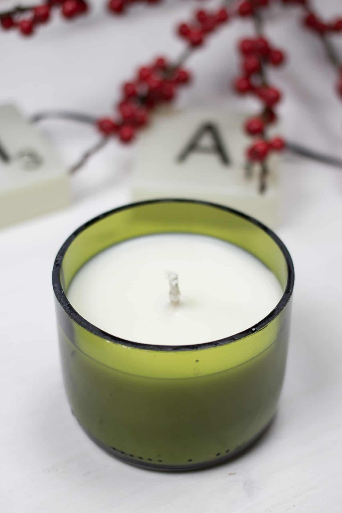 Flaschen-Upcycling-Kerzen | SOAP|KITCHEN|STYLE