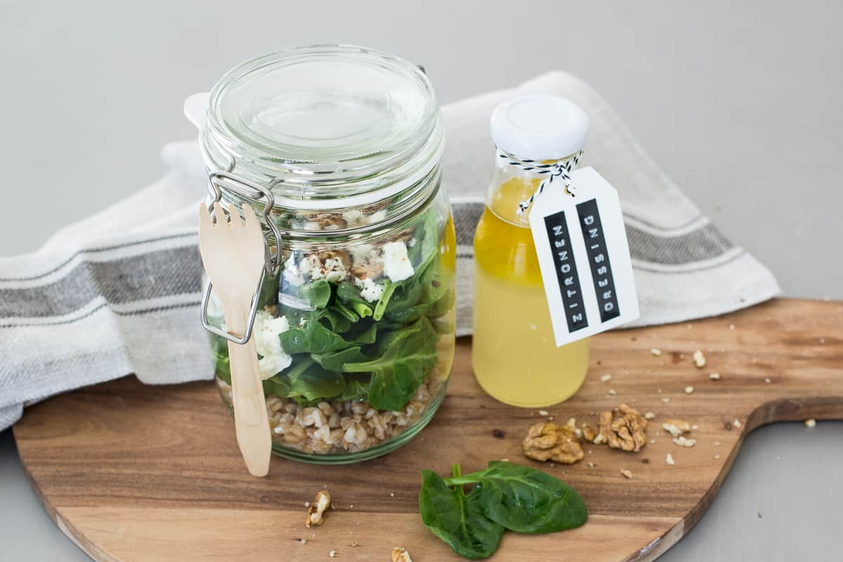 Spinat-Salat-mit-Feta | ToGo | Friends of Glass | SOAP|KITCHEN|STYLE