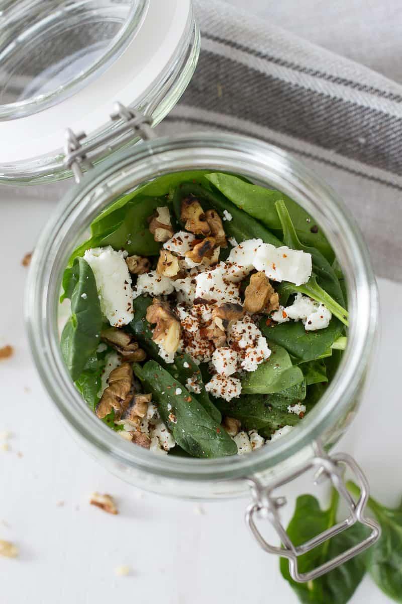 Spinat-Salat-mit-Feta | Friends of Glass | SOAP|KITCHEN|STYLE