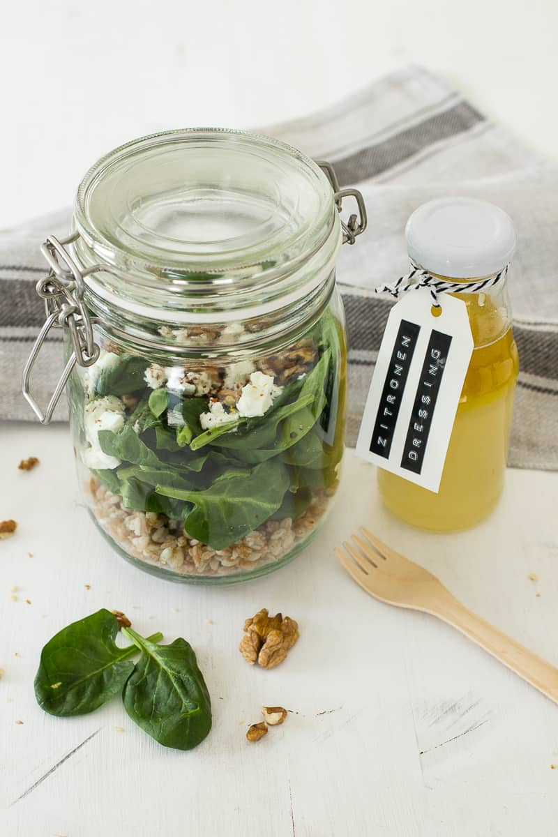Spinat Salat mit Feta | Friends of Glass | SOAP|KITCHEN|STYLE