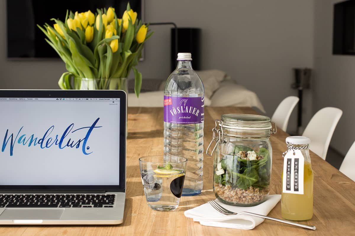 Spinat-Salat-mit-Feta | Office Lunch | Friends of Glass | SOAP|KITCHEN|STYLE