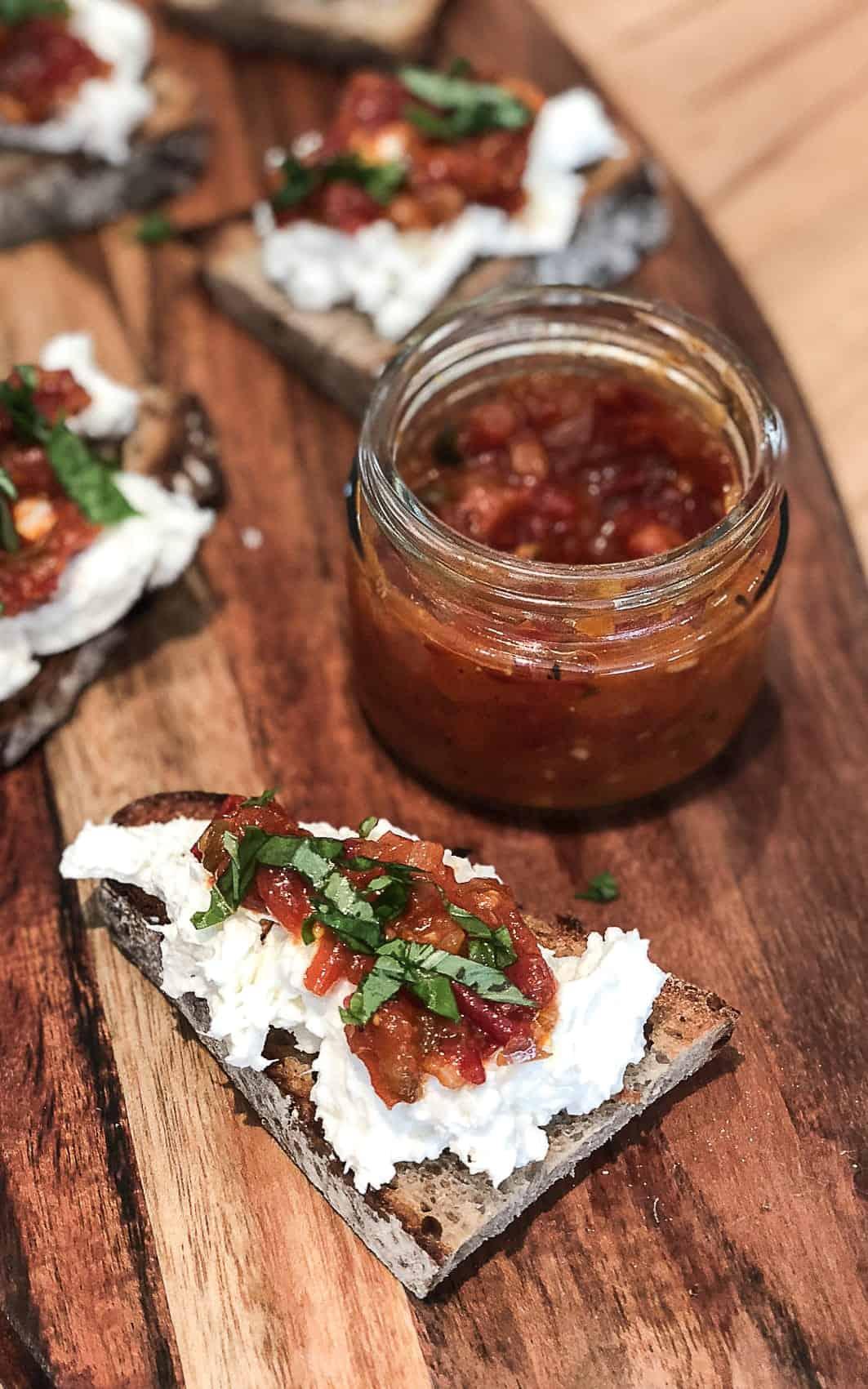 Tomatenmarmelade mit Salzkapern | afba18 | SOAP|KITCHEN|STYLE
