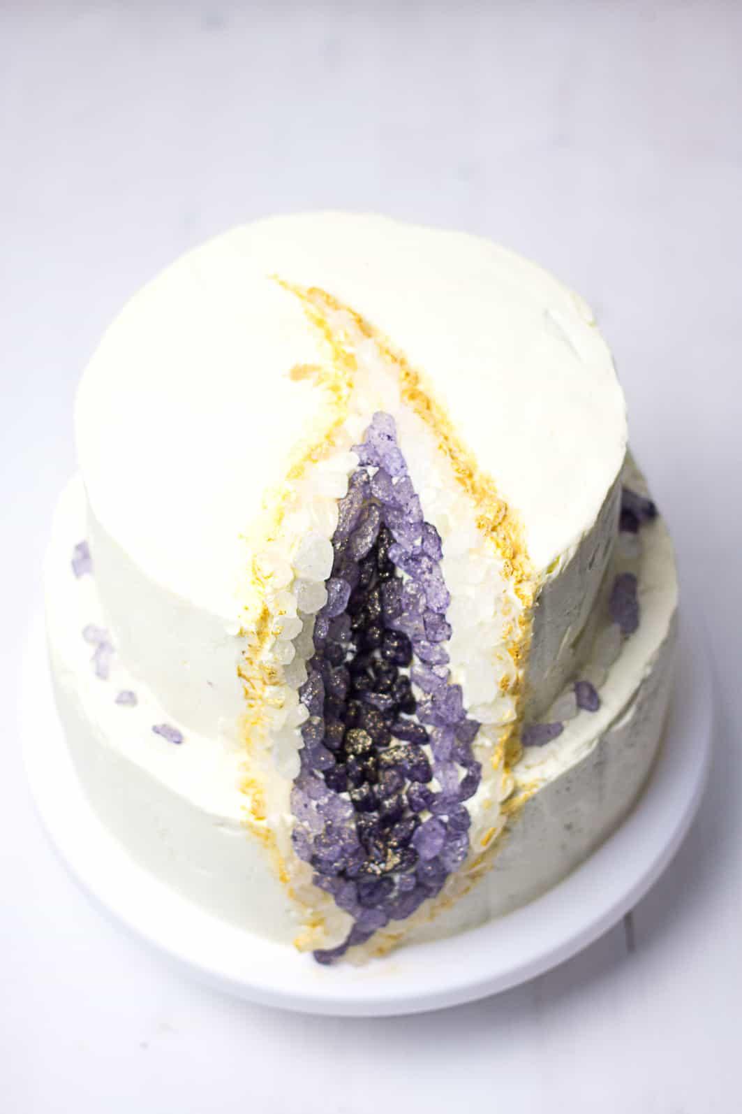 Edelsteintorte selber machen | Amethist | SOAP|KITCHEN|STYLE