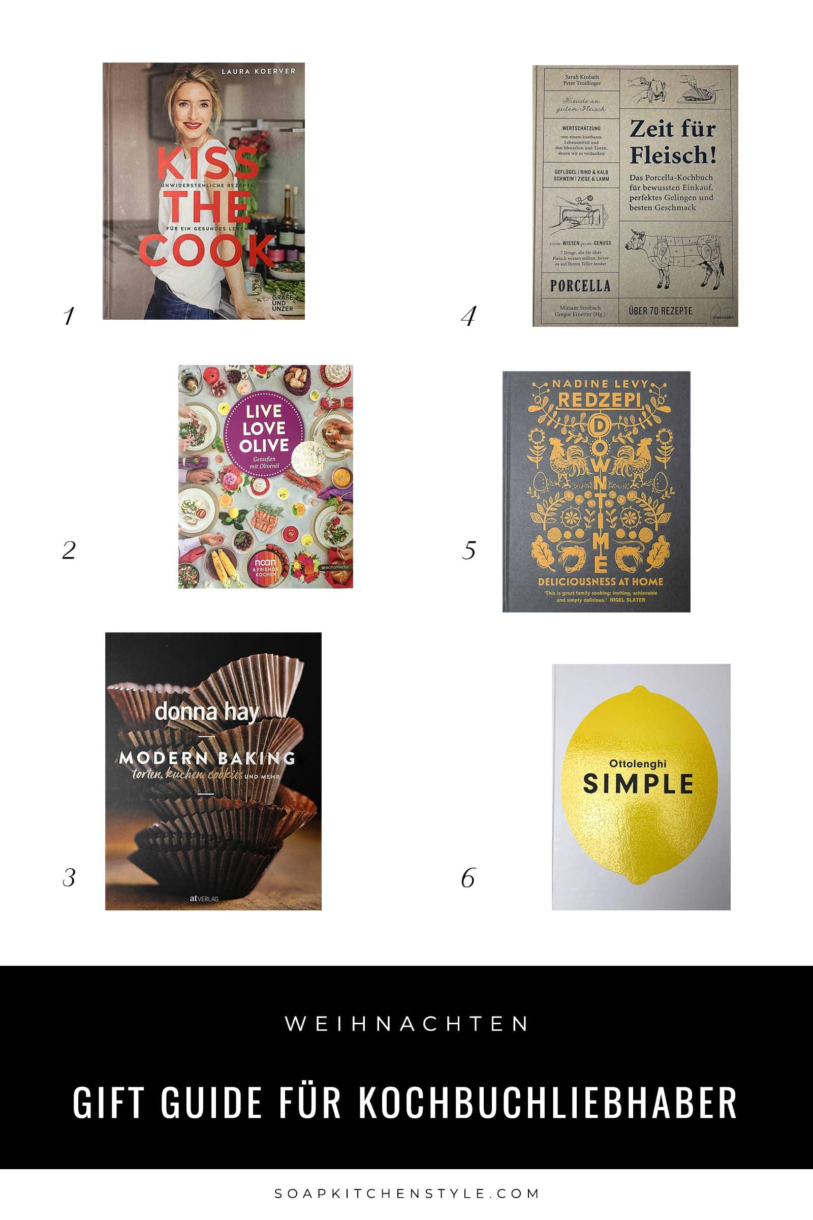 Gift guide für Kochbuchliebhaber | SOAP|KITCHEN|STYLE