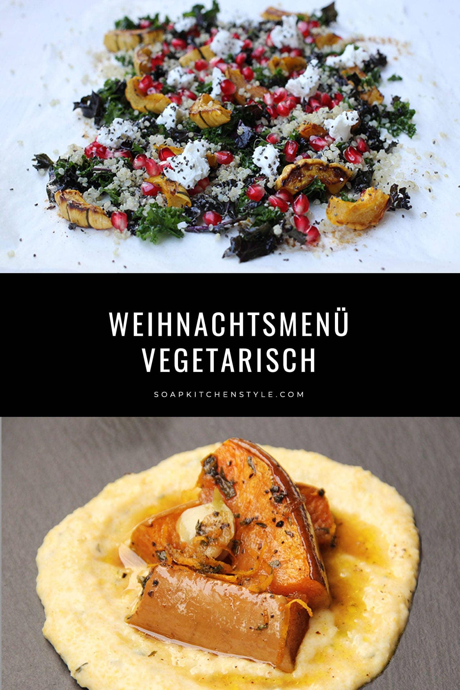 Weihnachtsessen Vegetarisch.Weihnachtsmenü Easy Peasy Vegetarisch Oder Deluxe Soap Kitchen