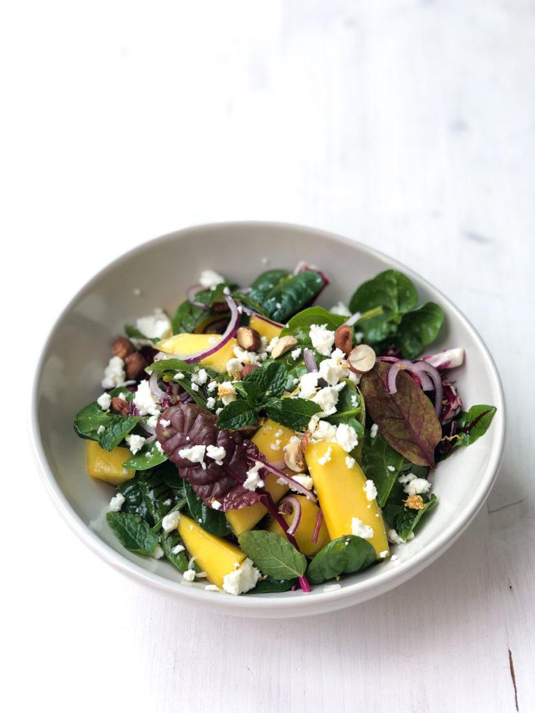 Salat | Mangold | Spinat | Mango | Feta | SOAP|KITCHEN|STYLE