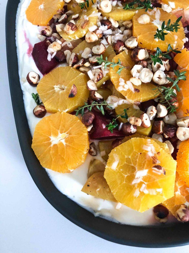 Gebackene Rote Rüben mit Orangen auf Joghurt | SOAP|KITCHEN|STYLE